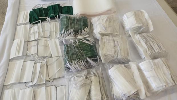 Acieg doa mais de 7 mil máscaras para instituições em Goiás