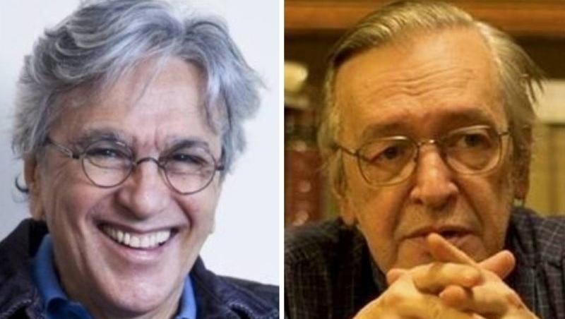 Justiça mantém decisão de que Olavo de Carvalho tem de pagar 2,9 milhões a Caetano Veloso