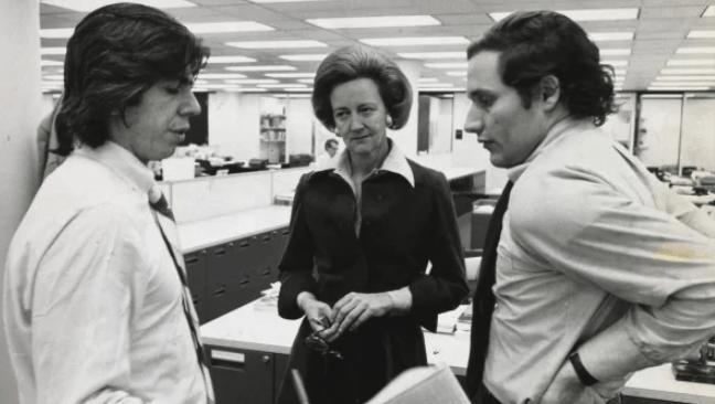 Katharine Graham, a grande da imprensa americana