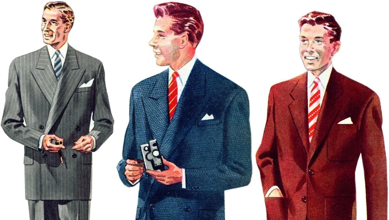 O tempo que usar terno e gravata era obrigatório