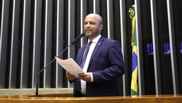 Líder do governo na Câmara, deputado federal Vitor Hugo (PSL) comenta saída de Moro   Foto: Maryanna Oliveira/Câmara dos Deputados