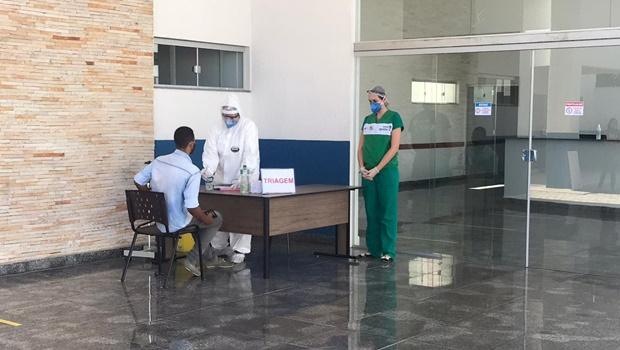 Hospital Regional de Luziânia recebe primeiros pacientes para internação