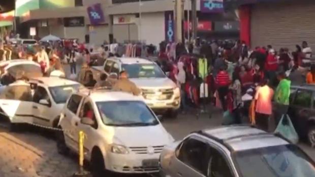 """""""Enquanto o comércio formal estiver fechado, os ambulantes vão tomar conta"""", afirma Marcelo Baiochi"""