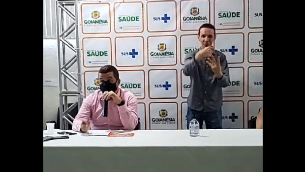 Hisham Hamida secretário municipal Saúde Goianésia - Foto Reprodução Instagram