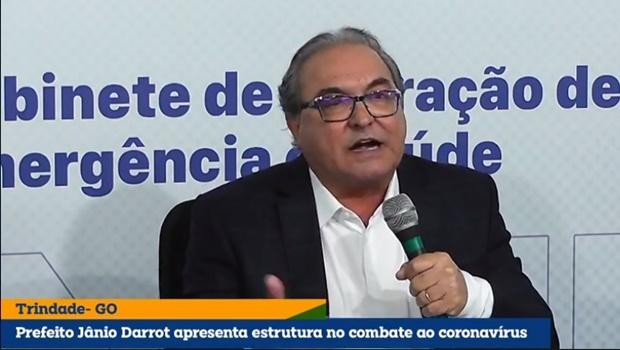 Em live, prefeito de Trindade defende ações de enfrentamento a Covid na cidade