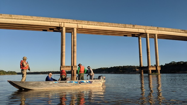 Operação no Rio Araguaia apreende cerca de 200 kg de pescado