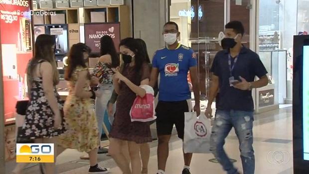Shoppings reabertos Aparecida de Goiânia 2 - Foto Reprodução TV Anhanguera