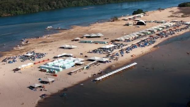 MP cobra plano para impedir aglomerações na temporada do Araguaia