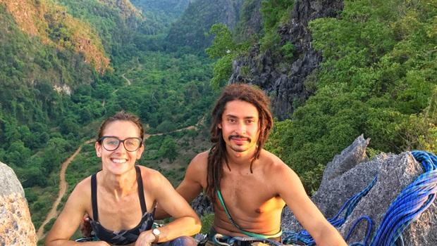 Depois de 2 anos em viagem pelo mundo, casal goiano fica 1 mês em camping no Laos durante pandemia