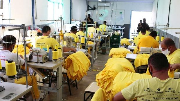 Ressocialização de presos em Anápolis avança para dar oportunidade de trabalho