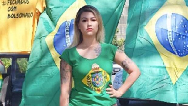 Prisão  preventiva de Sara Winter é prorrogada pelo STF