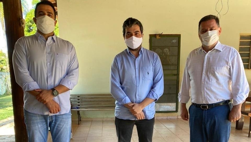 Marconi Perillo e André Pio debatem candidatura a prefeito em Pirenópolis