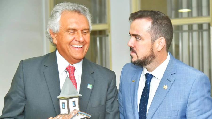 Ronaldo Caiado e Gustavo Mendanha se tornaram interlocutores