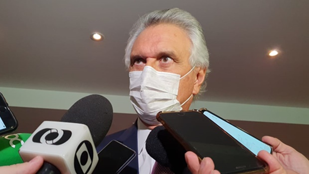 """""""Você vê a diferença reinando no estado de Goiás"""", diz Caiado sobre resultados de sua gestão"""