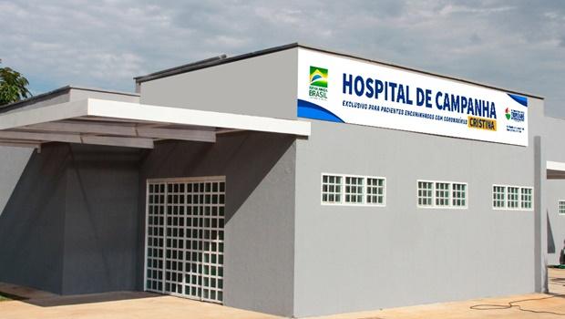 Trindade terá Hospital de Campanha com 20 leitos para Covid-19
