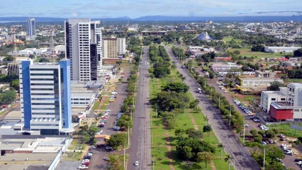 Palmas registra a 2º maior taxa de crescimento entre as capitais