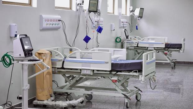 Hospital de Campanha de Aragarças tem lotação de leitos para tratamento da Covid-19