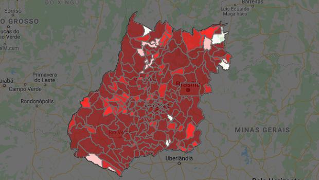 Goiás ultrapassa a marca dos 183 mil casos confirmados de Covid-19