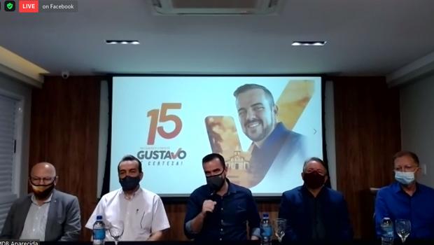 Vilmar Mariano é confirmado como pré-candidato a vice de Gustavo Mendanha à prefeitura de Aparecida