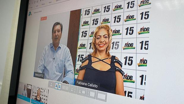 Maguito aposta em redes sociais e grava vídeos com candidatos a vereadores