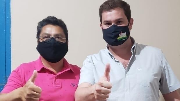Juraci Martins banca Manoel Pereira para vice do candidato do MDB em Rio Verde