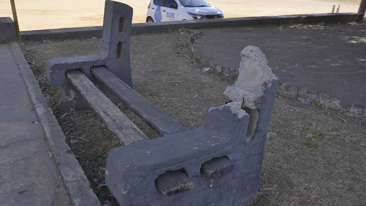 Prefeitura de Aparecida gasta cerca de R$850 mil por ano em reparação de vandalismos em praças públicas