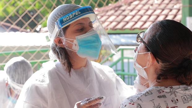 Covid-19: população da Região Leste recebe nova testagem em massa