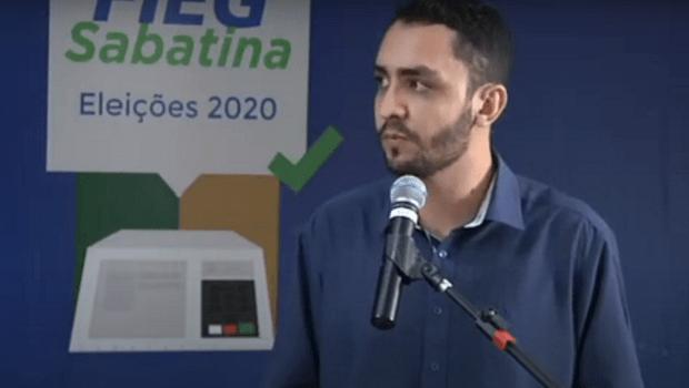 Pré-candidato à prefeitura de Goiânia, Fábio Júnior, defende políticas públicas voltadas para jovens e trabalhadores