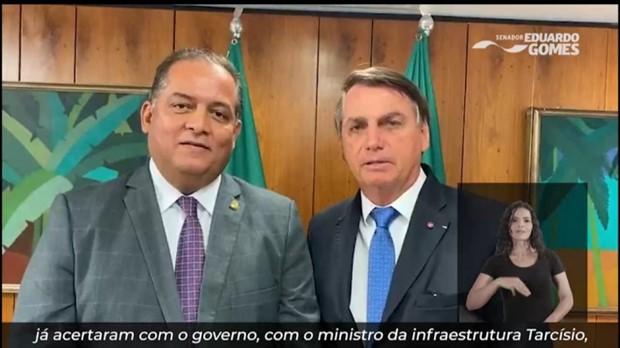 Presidente Bolsonaro garante que BR-235, que cruza o Matopiba, será construída