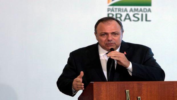 Eduardo Pazuello, Ministro da Saúde, está afastado com Covid-19