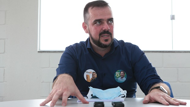 Gustavo Mendanha pretende criar banco de alimentos em Aparecida de Goiânia, caso seja reeleito