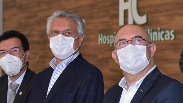 Em Goiânia, ministro da Educação visita e elogia novo prédio do HC