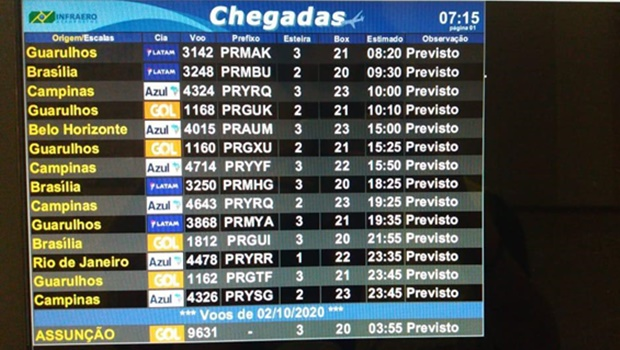 Aeroporto Santa Genoveva recebe primeiro voo internacional nesta sexta