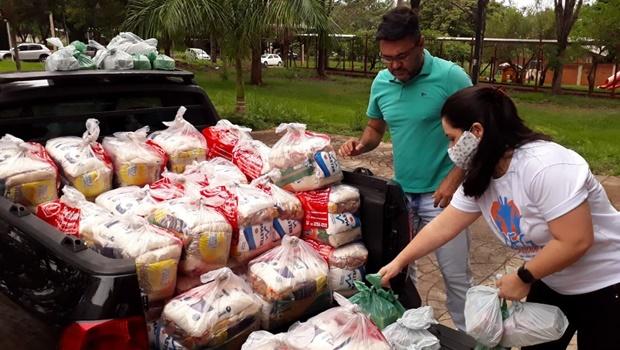 UFG Solidária realiza drive thru para arrecadar doações nesta terça-feira