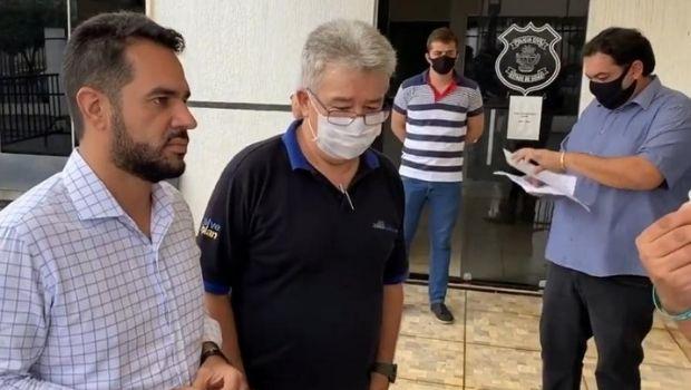 Ameaçados de morte, Pedro Gonçalves e Otavinho procuram delegacia de Goianésia