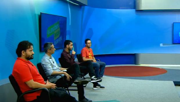 Candidatos à Prefeitura de Goiânia falam sobre propostas na terceira rodada de debates da TBC