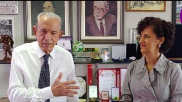 Célia Valadão é a única candidata à Câmara que o prefeito Iris Rezende declarou apoio