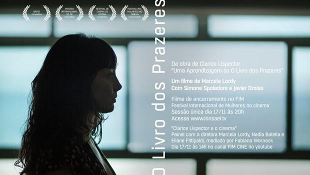 Filme 'O Livro dos Prazeres' será exibido no Festival Internacional de Mulheres no Cinema