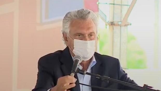 Caiado diz que variante que circula em Goiás tem capacidade de transmissão assustadora e atinge mais jovens