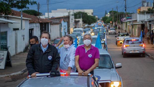 Na disputa pela Prefeitura de Cristalina, Attié diz estar confiante e encerra última carreata com participação de mais de 500 veículos