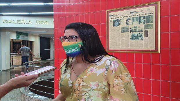 Vereadora eleita Gabriela Rodart (DC) diz que cabe ao cidadão decidir sobre o uso da máscara