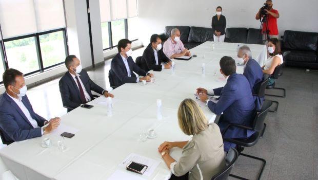 Equipe de transição do prefeito Maguito avalia pandemia em Goiânia