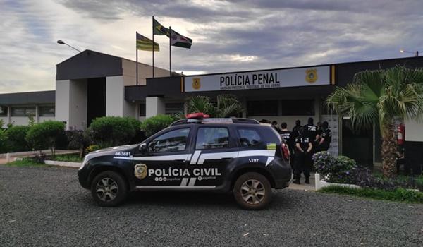 Operação Eptá afasta diretoria do presídio de Rio Verde