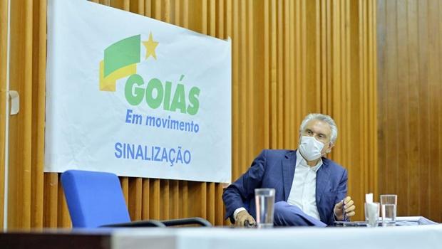 Governo Caiado pretende investir R$ 1,8 bi em pavimentação e recuperação da malha viária