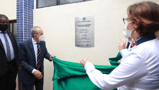 Complexo de saúde no Jardim América é inaugurado em cerimônia com homenagens a Iris Rezende