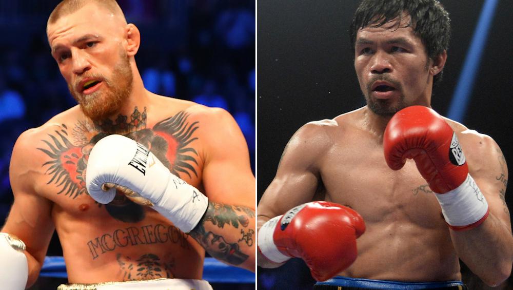Connor McGregor deve lutar (boxe) contra Manny Pacquiao em março