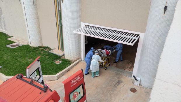 Hospital das Clínicas de Goiânia recebe os primeiros   pacientes vindos de Manaus