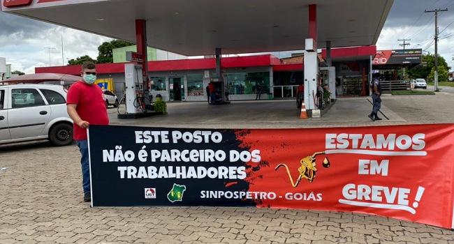 Sindicato promete paralisação de frentistas em Goiás