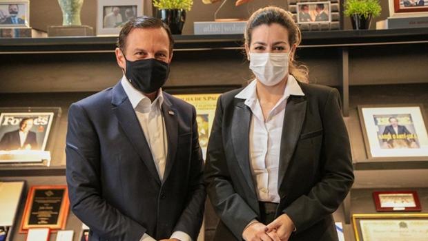 Prefeita Cinthia coloca Palmas na rota da vacina após reunião com Dória