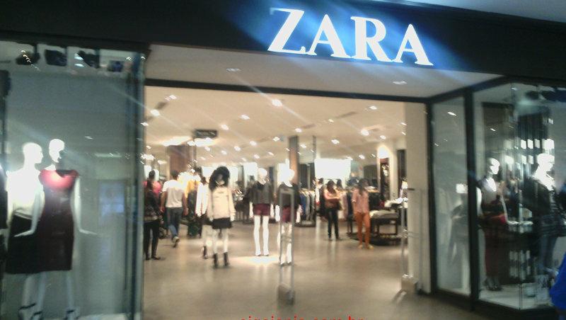 Zara vai fechar sete lojas, uma delas em Goiânia